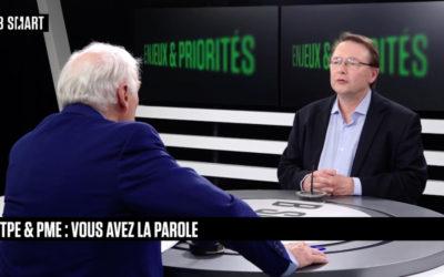 Interview de Laurent Lebrun, président de Hprobe sur B SMART